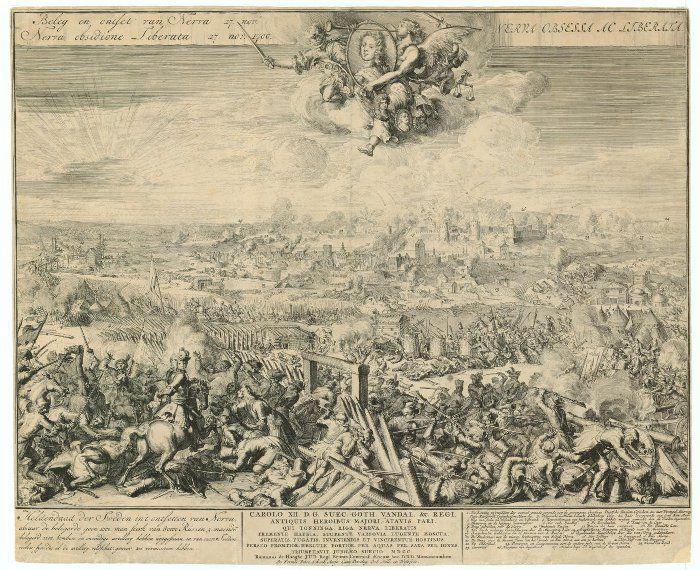 нарвское сражение 1700