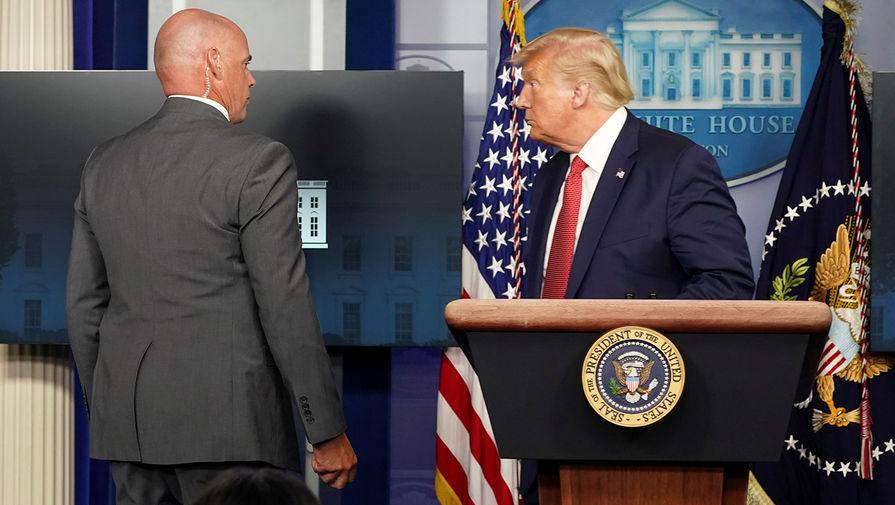 в каком году трамп стал президентом америки