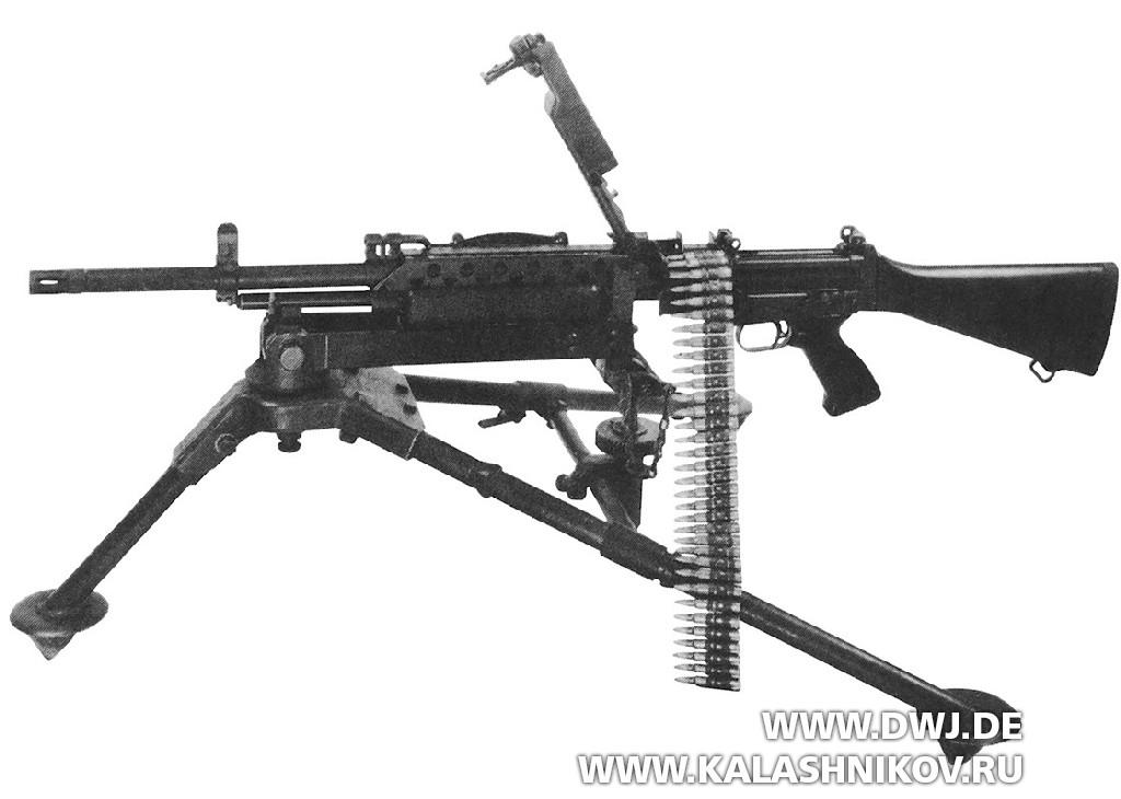 м 249 пулемет