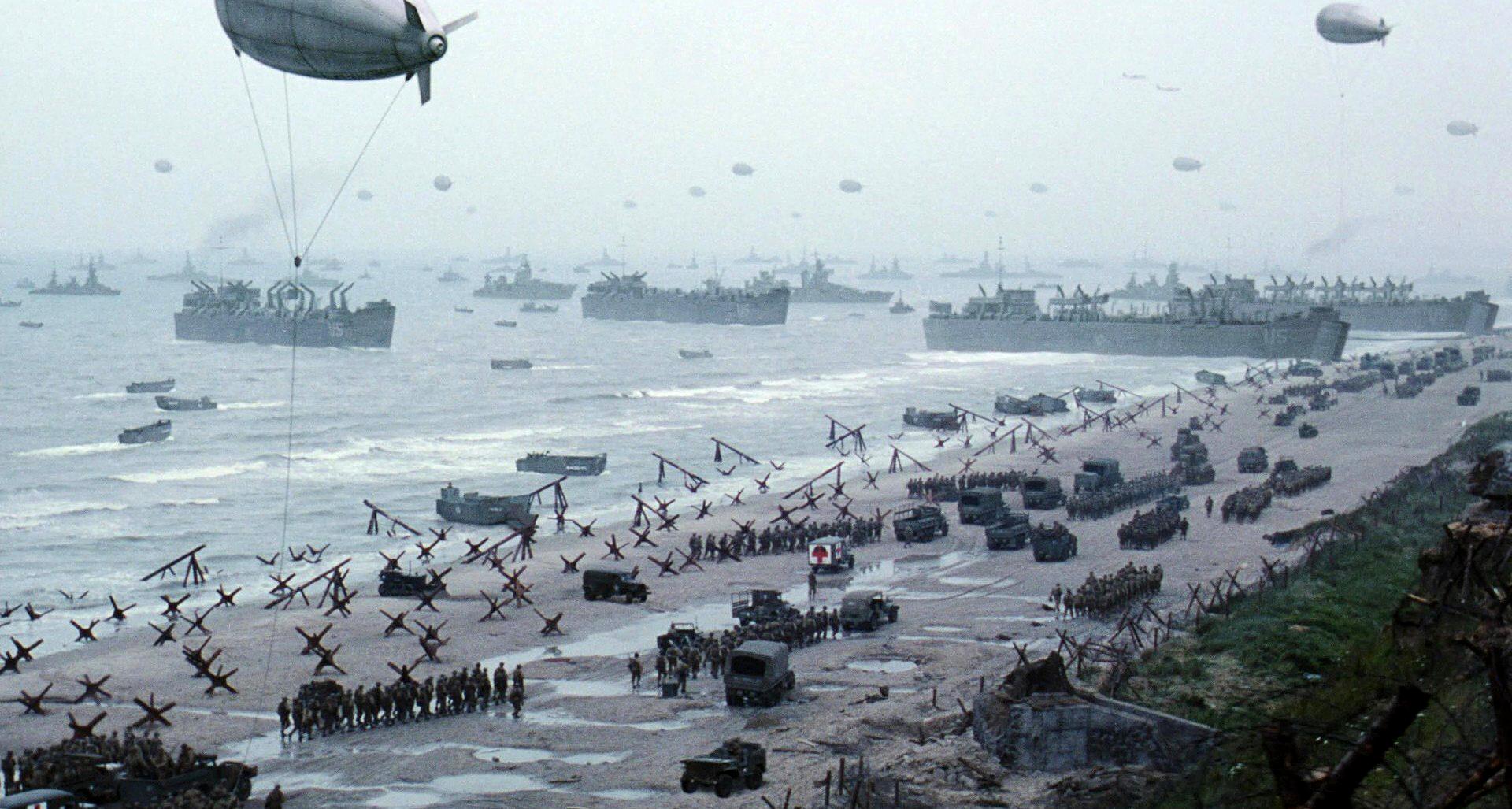 второй фронт был открыт на территории