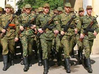 на сколько уходят в армию