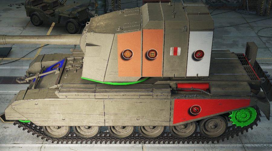 танк фв 4005