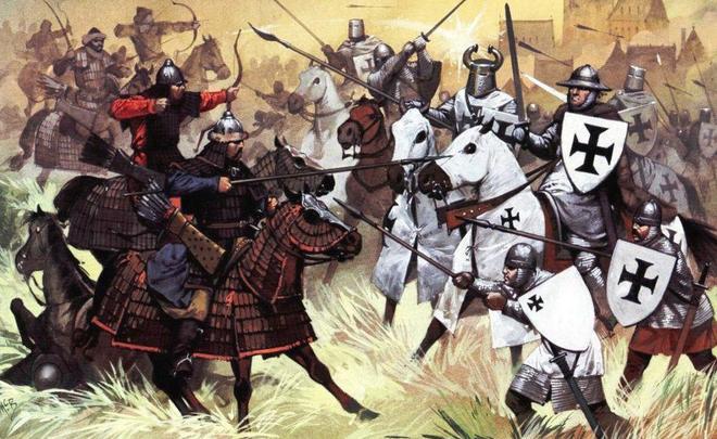 духовно рыцарские ордена во время крестовых походов