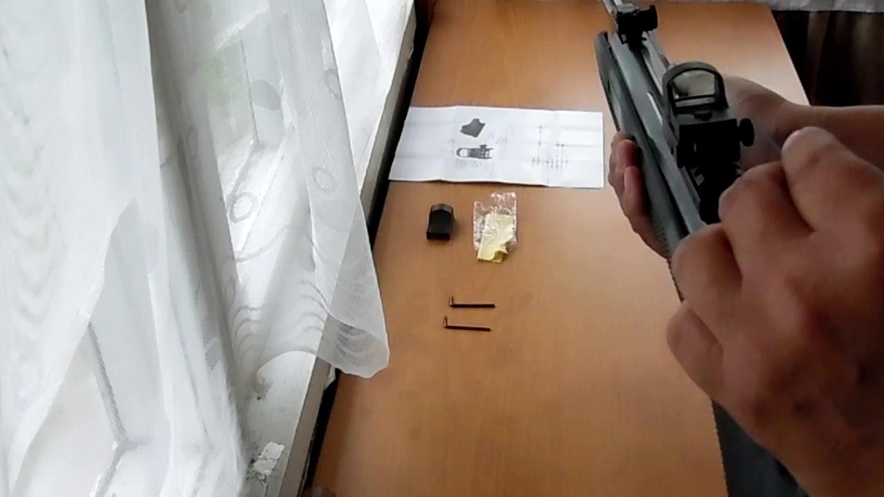 стрельба с коллиматорным прицелом