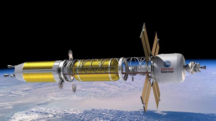 атомный двигатель для ракеты