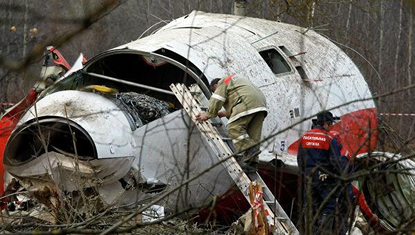 польский самолет под смоленском