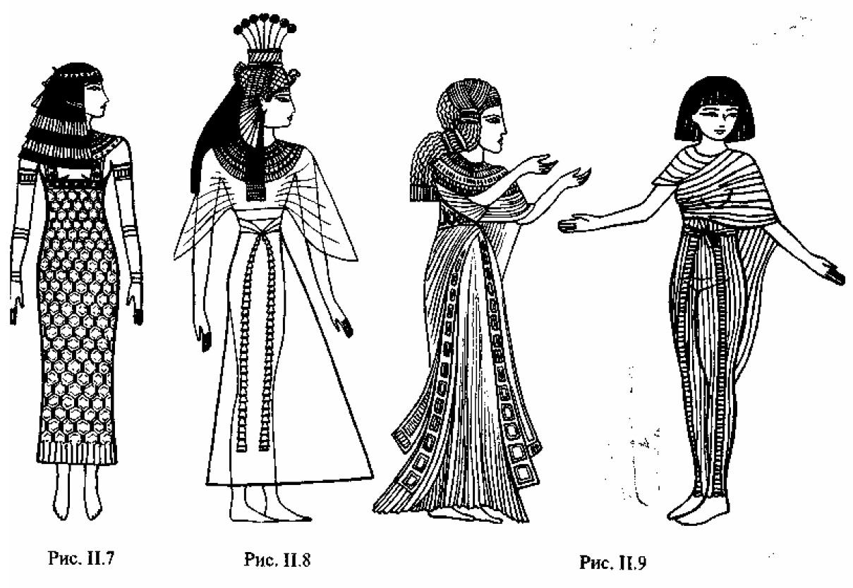 одежда древнего египтянина