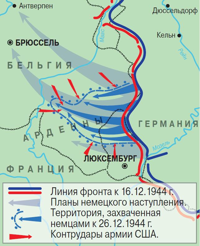 ардены битва 1944