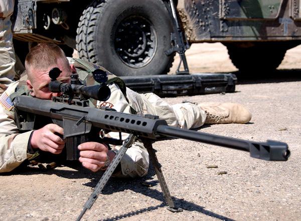 снайперская винтовка барретт