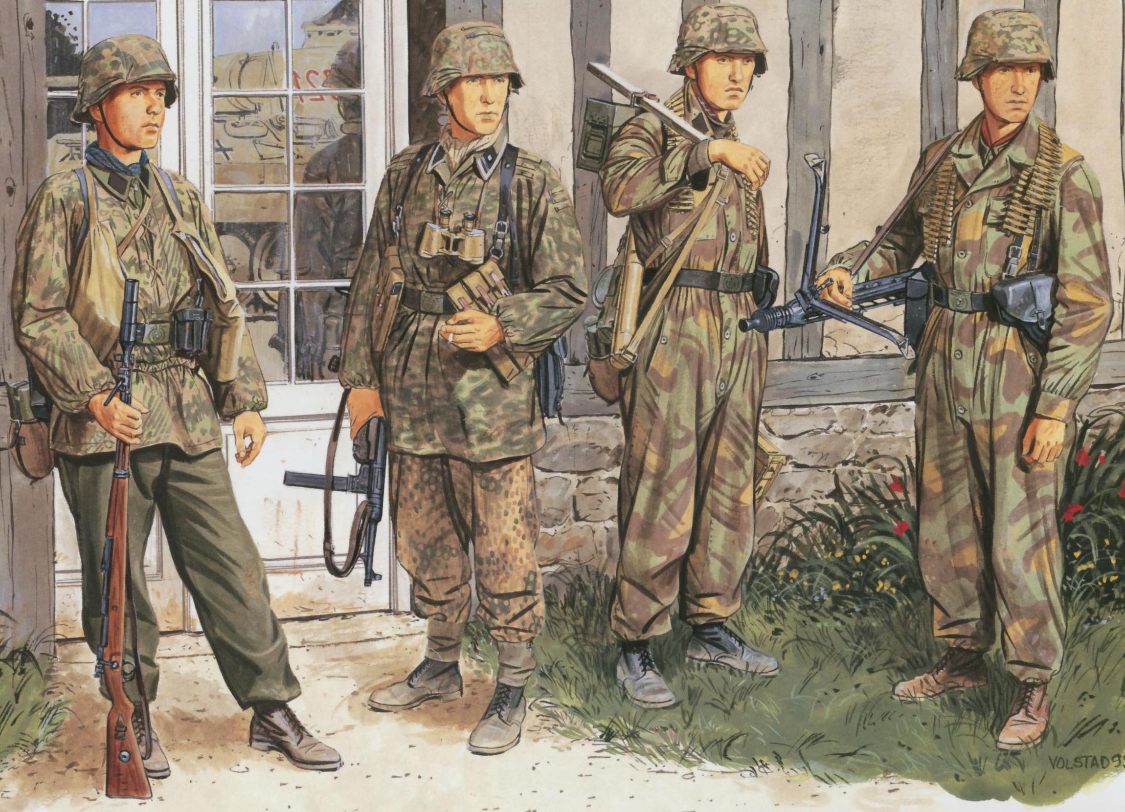 форма фашистов 1941 1945