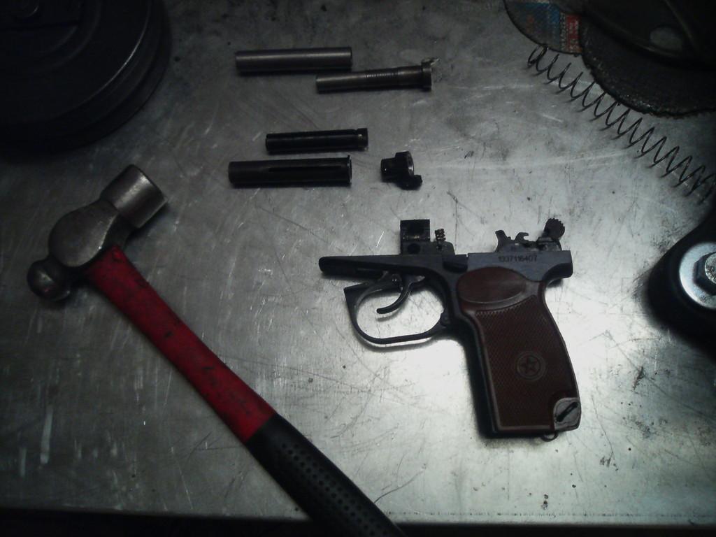 звуковой пистолет