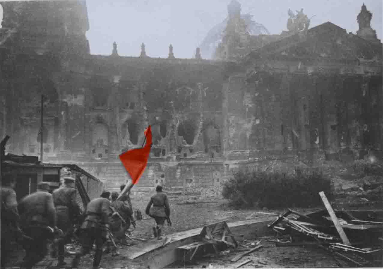 штурм рейхстага 1945