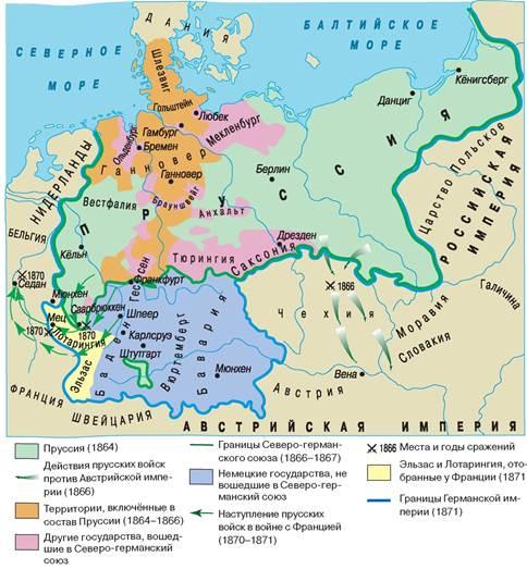 роль бисмарка в объединении германии