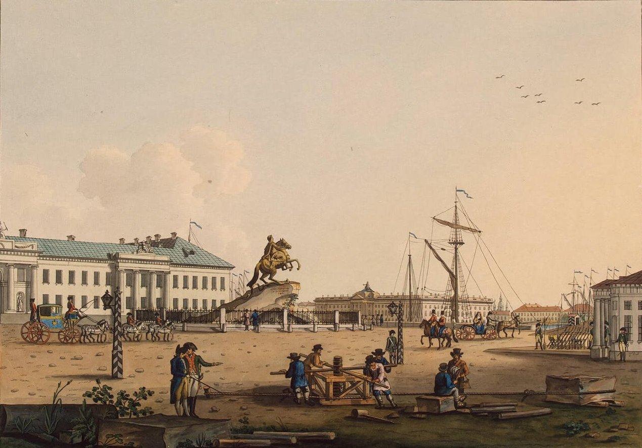 санкт петербург во времена петра 1