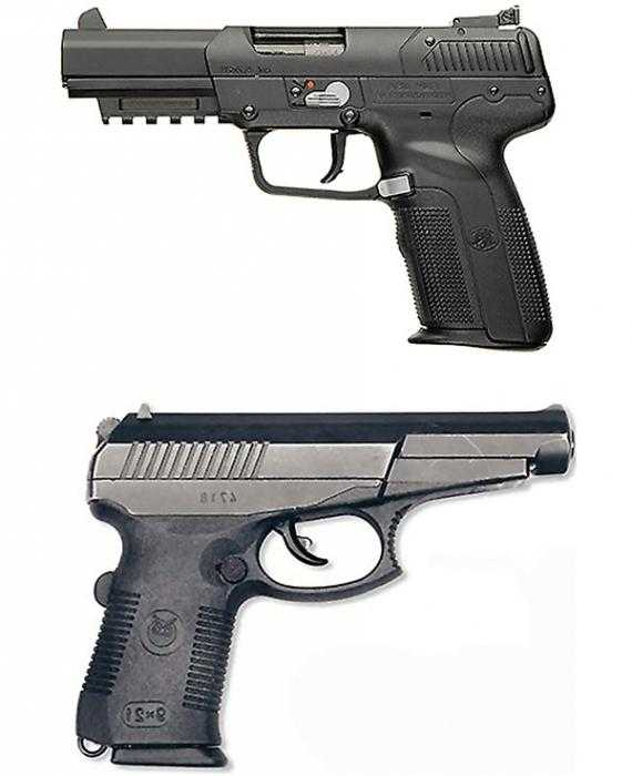 пистолет гюрза видео