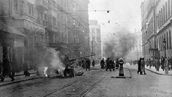 антикоммунистическое восстание в венгрии