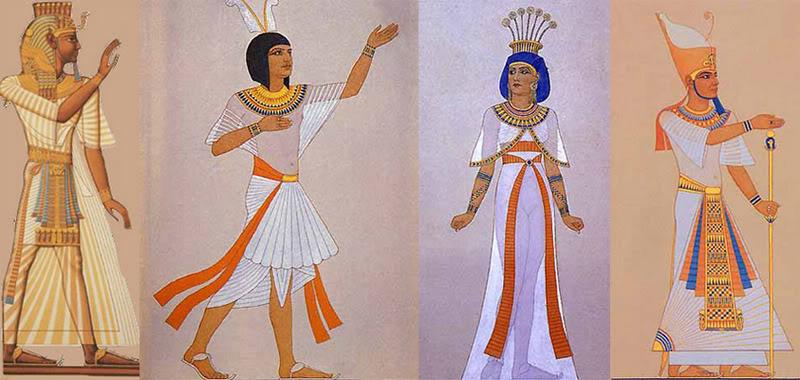 во что одевались древние египтяне земледельцы
