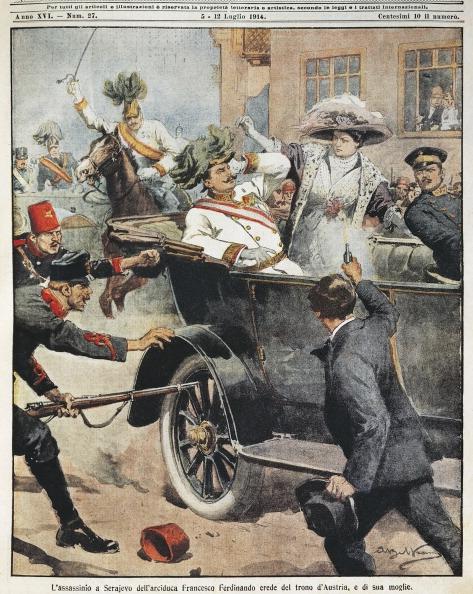 убийство австрийского эрцгерцога