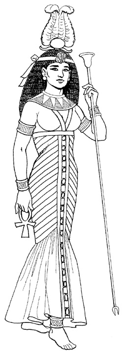 как одевались в древнем египте