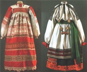 одежда крестьян на руси