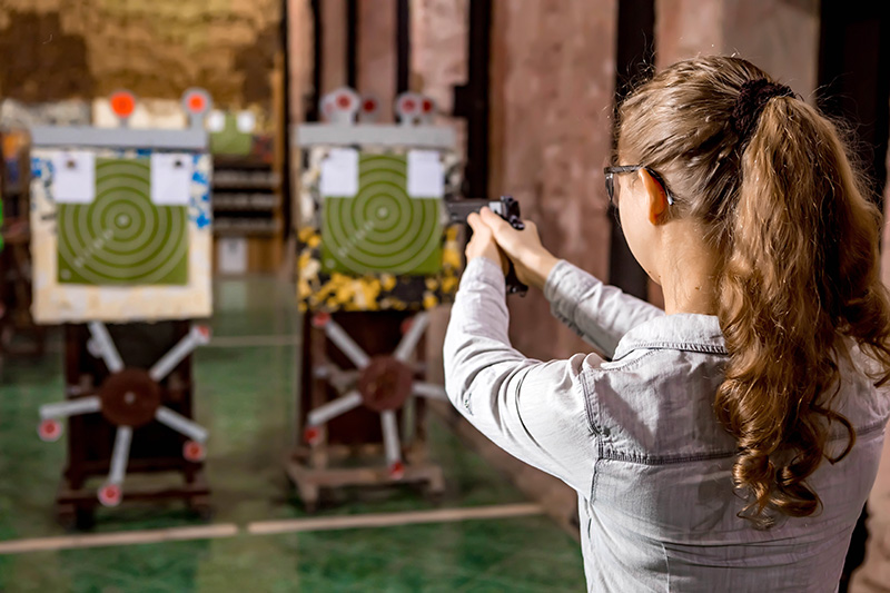 техника стрельбы из пистолета