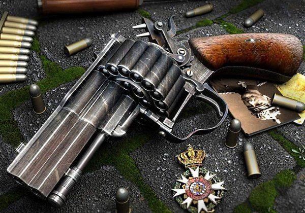 интересное оружие