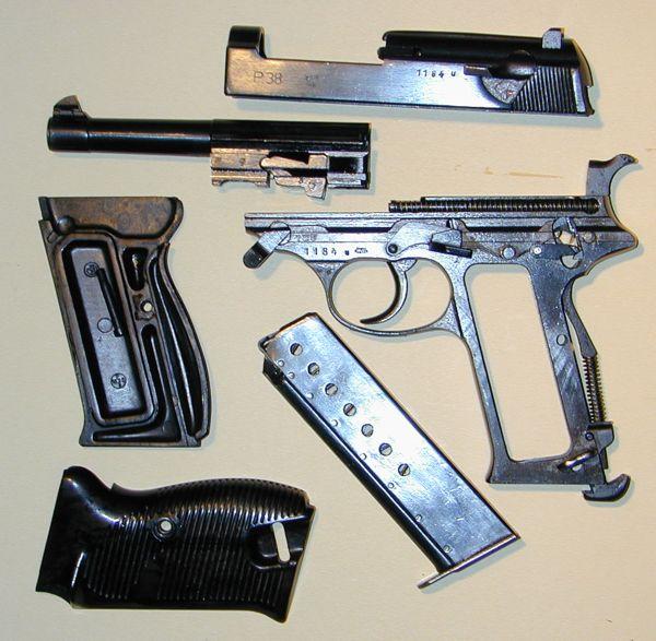 немецкий пистолет вальтер