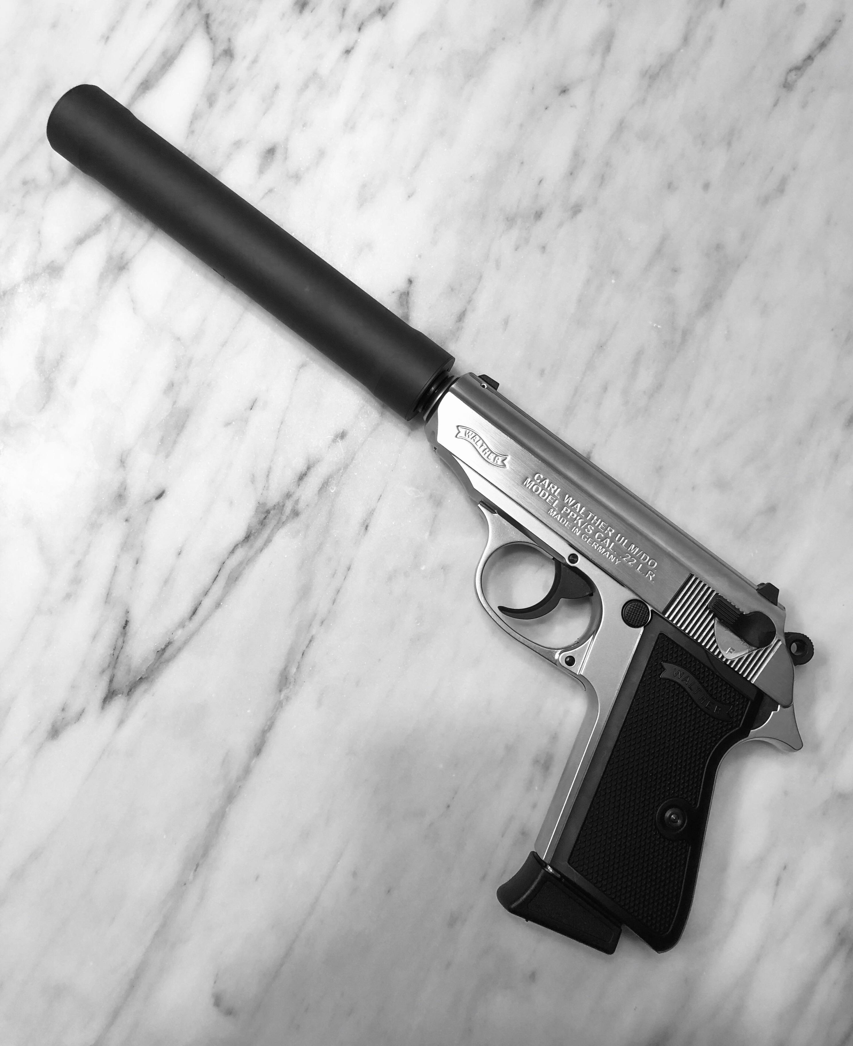 пистолет walther ppk