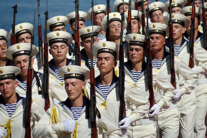 красная тельняшка какие войска россии