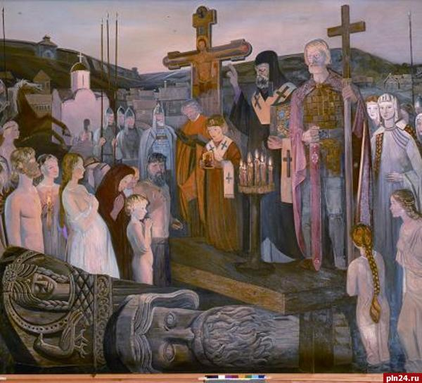 где принял крещение князь владимир i святославович
