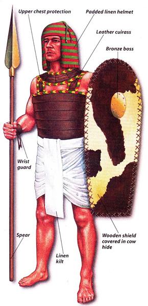 пехотинец это в древнем египте 5 класс