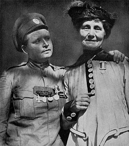 мария бочкарева женский батальон смерти