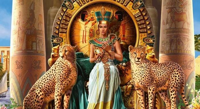 картинка фараона древнего египта
