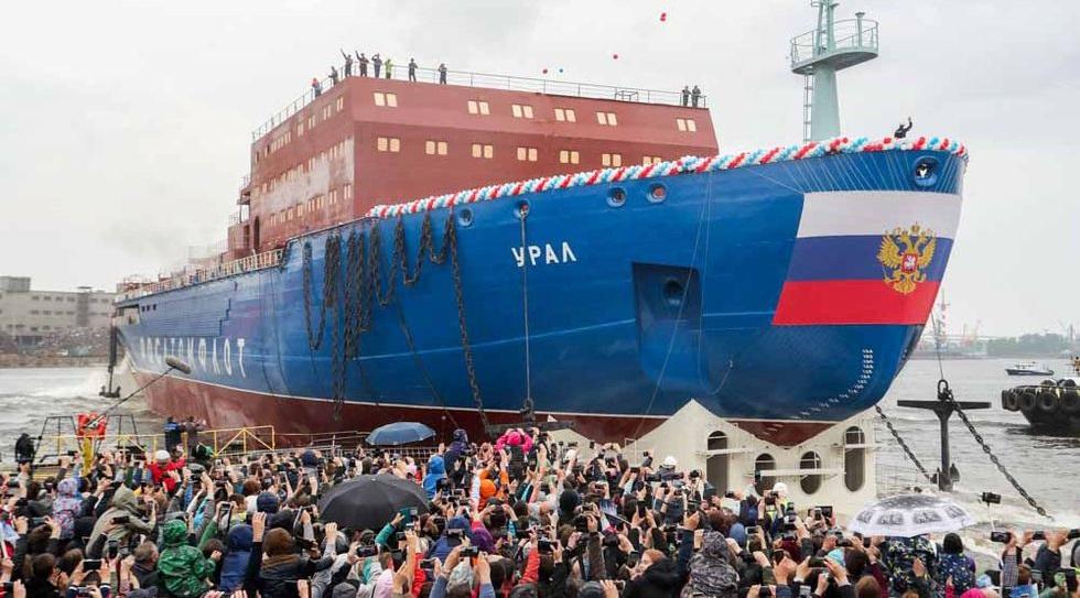 атомные ледоколы россии список