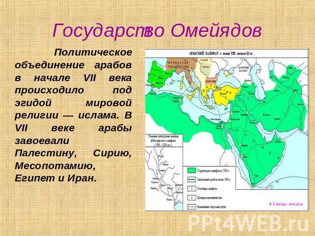 какова судьба арабского халифата
