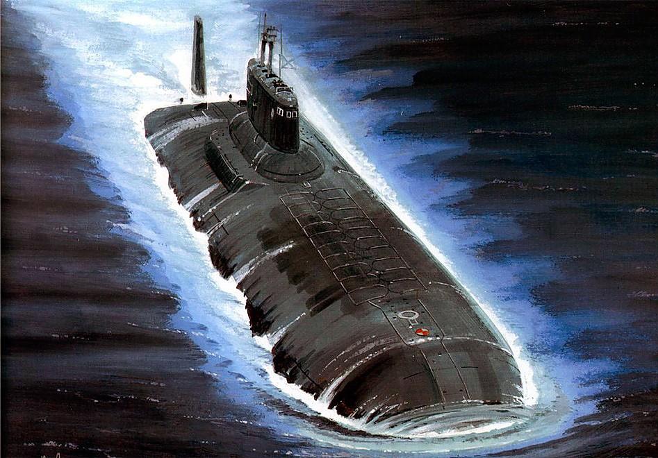 подводная лодка класса акула