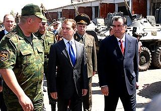 российские войска в таджикистане