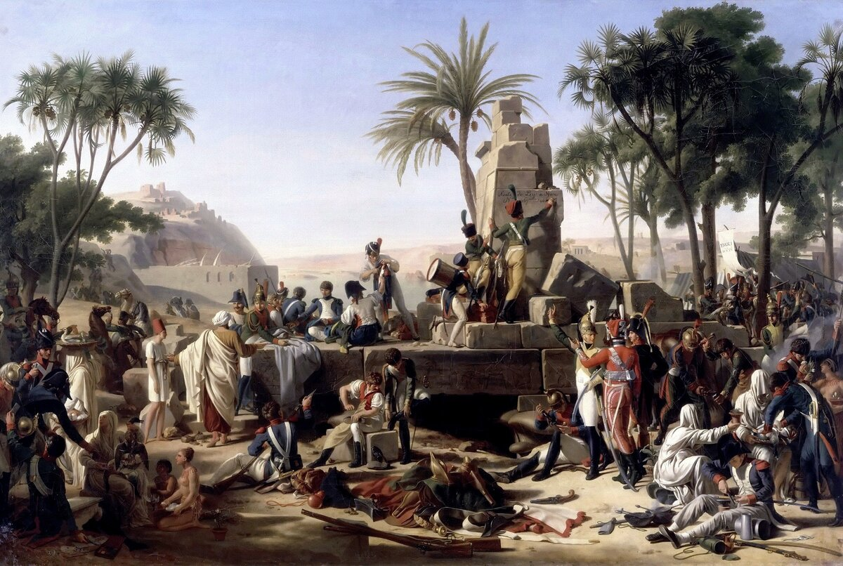 египетский поход наполеона дата