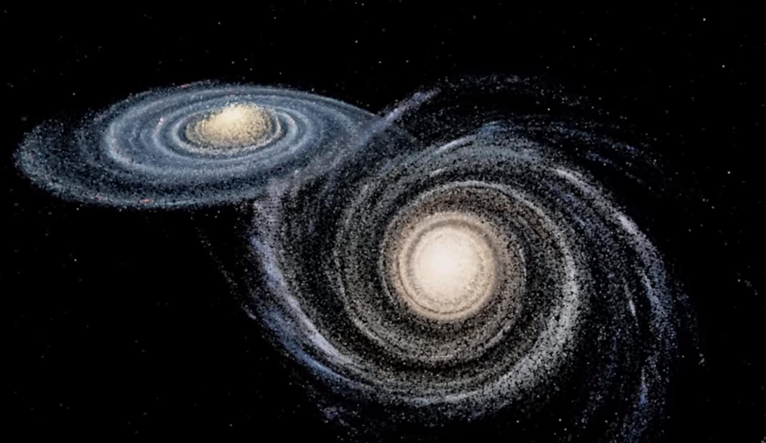 андромеда галактика на небе