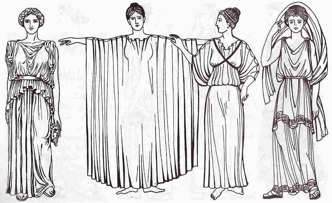 римская одежда