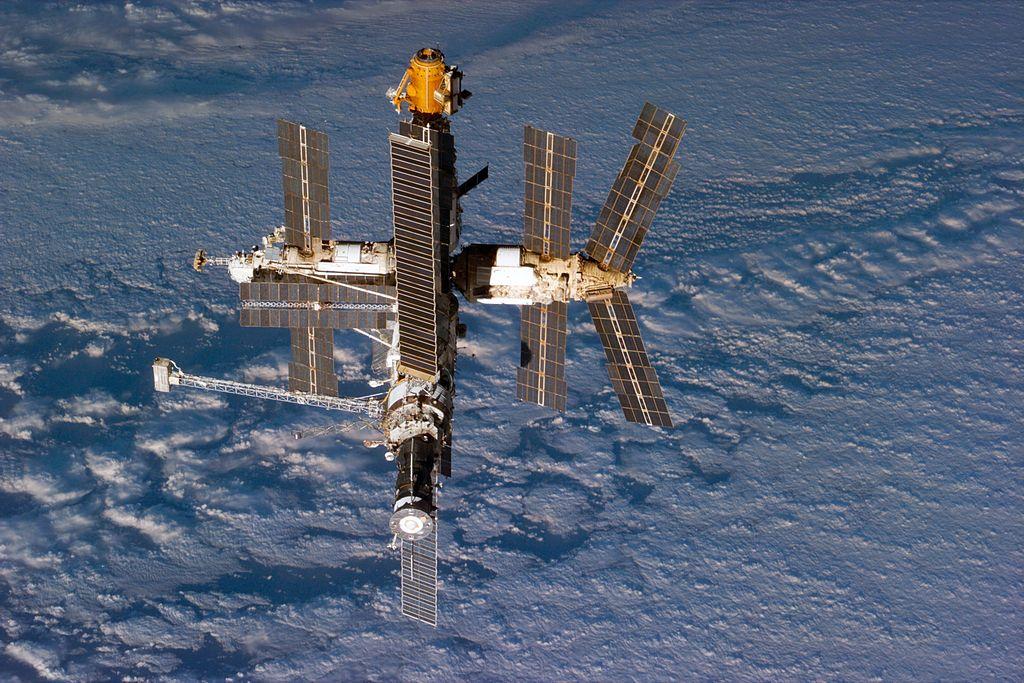 космическая станция мир затопление