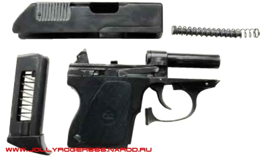 пистолет для космонавтов