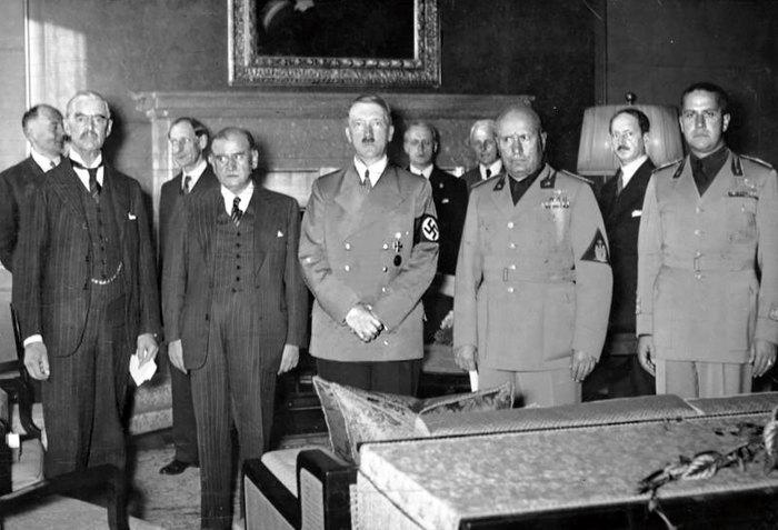 захват чехословакии германией