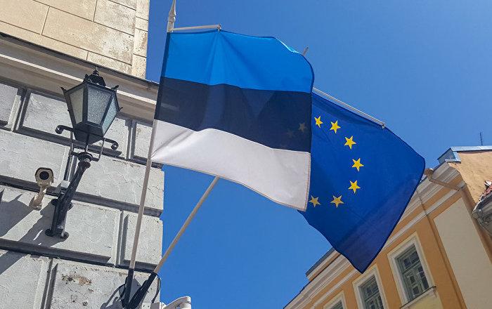 белый флаг с голубым крестом