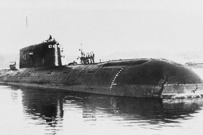 аварии на атомных подводных лодках