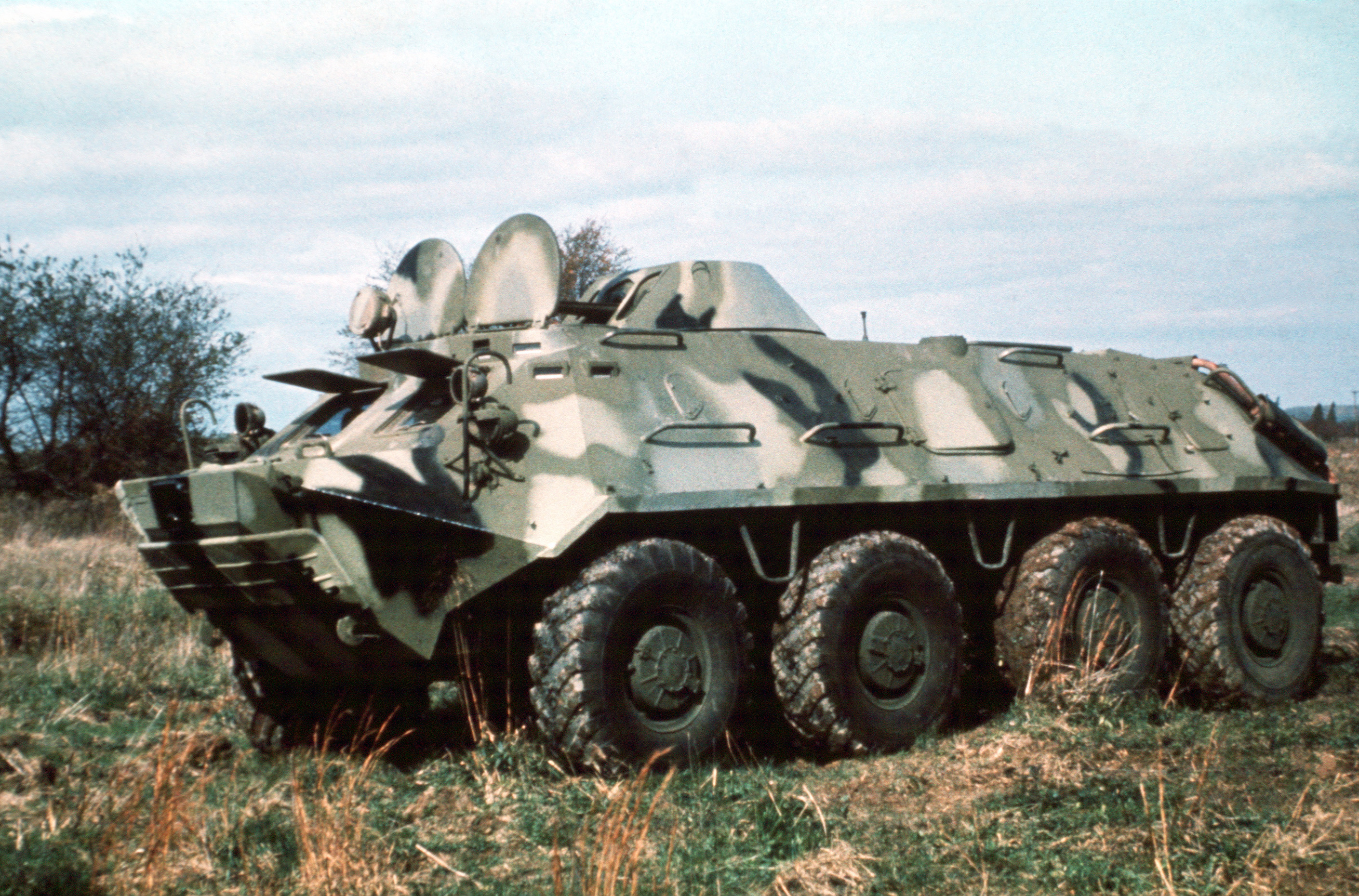российские бронемашины