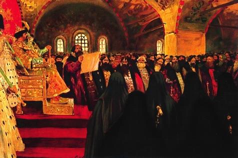 1 земский собор состоялся в