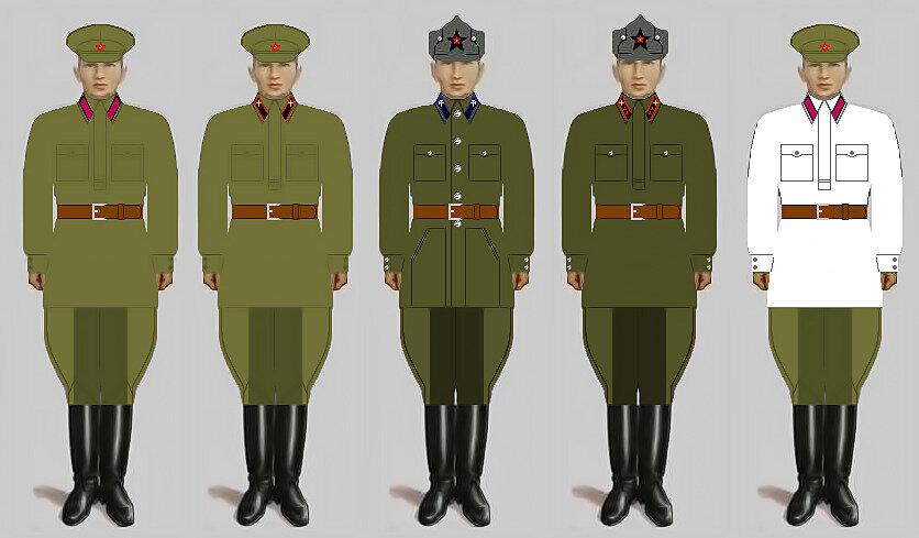 звания в армии ссср