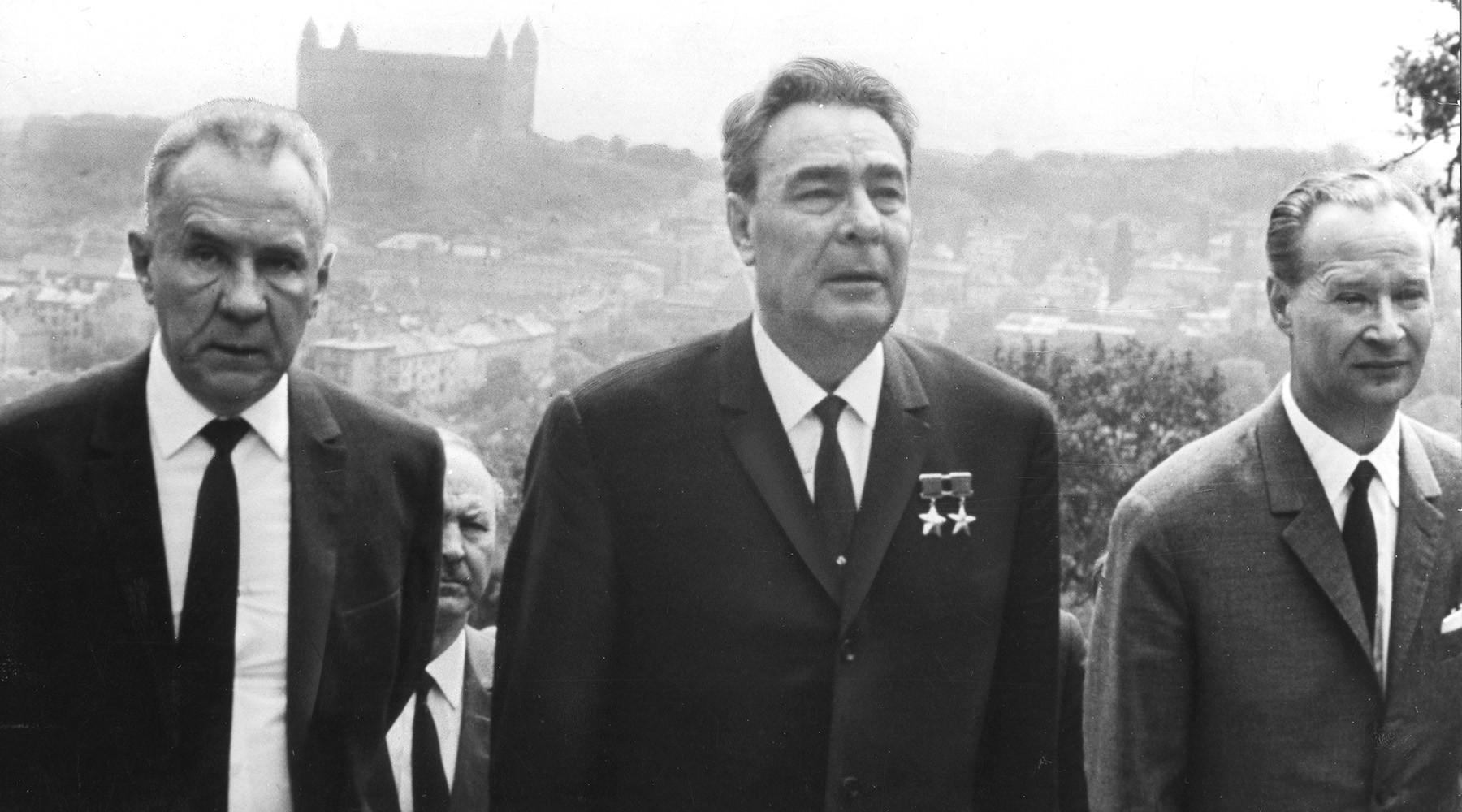 оккупация чехословакии 1968