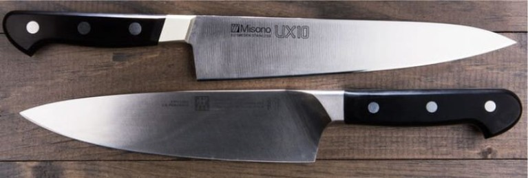 элементы ножа